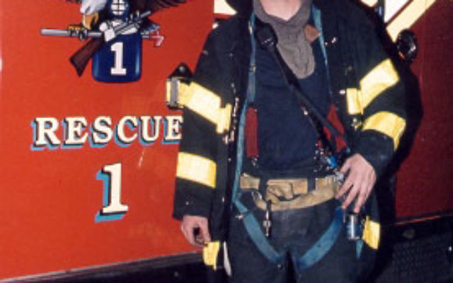 """New York City firefighter David Weiss """"was a hero,"""" said his surrogate father, Shell Kaylie. Photo courtesy New York City Fire Department"""