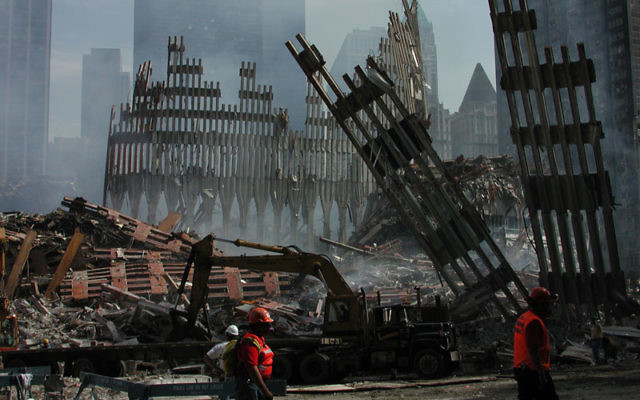 The devastation of Ground Zero on Sept. 18, 2001 Photo by Larry Bruce/Shutterstock.com