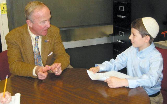 Aylon Berger interviews U.S. Rep. Rodney Frelinghuysen for The Spark.