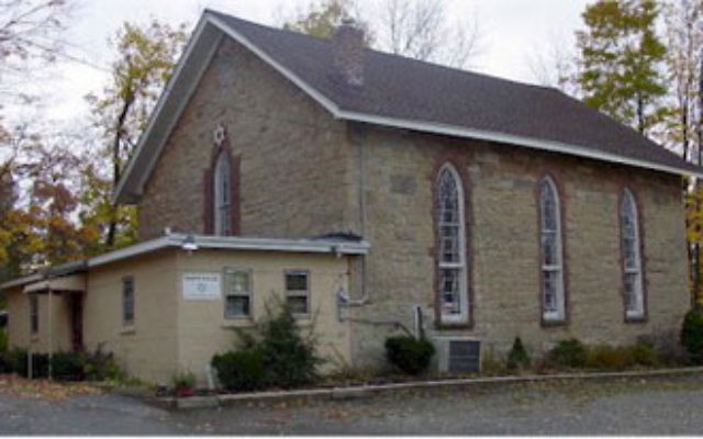 The 186-year-old building that houses Temple Shalom of Sussex County, now celebrating its centennial