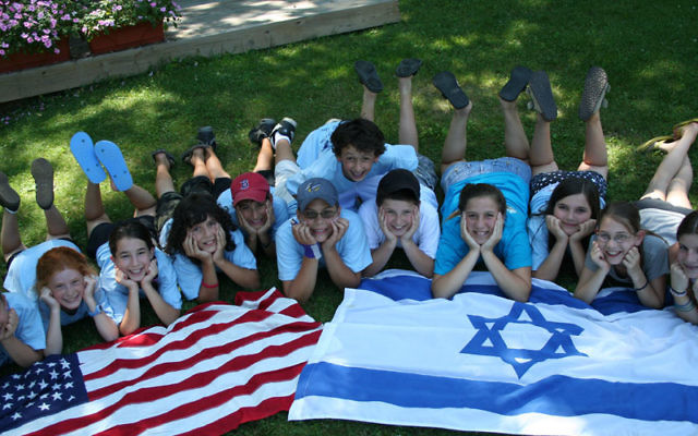 Youngsters at Camp Young Judaea Sprout Lake