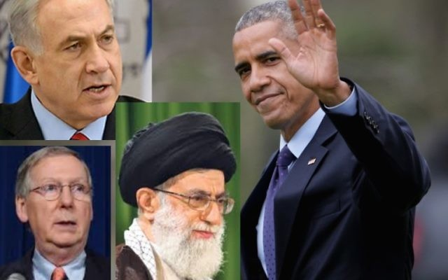 President Barack Obama has said Iran should be granted sanctions relief only once it begins to implement a nuclear accord. Israel, Iran, and Congress have different ideas. (Chip Somodevilla/Getty Images)