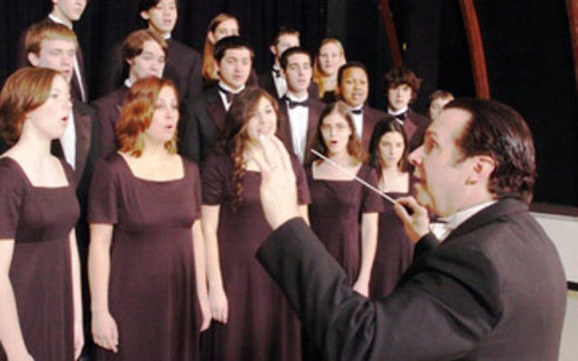 "Prof. Frank Abrahams, director of music education at Westminster College, will conduct the Hanukka concert that will feature the premiere of a new ""Ma'oz Tsur."""