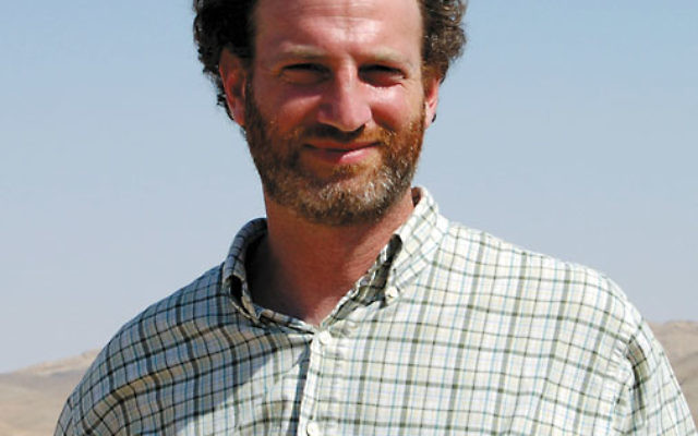 Peddie School visual arts teacher Eric Drotch on a visit to Mitzpe Ramon in Israel. Photos courtesy Eric Drotch