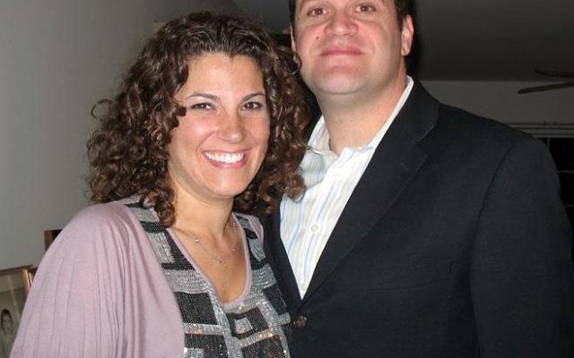 Rabbi Joshua Z. Gruenberg, with his wife Elissa, is the new rabbi of Congregation Beth El of Bucks County in Yardley, Pa.