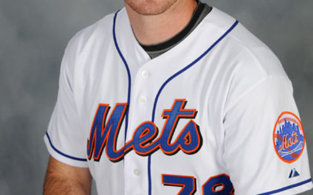 """Since joining the Mets, Ike Davis' number is now a more """"Major League""""-ish 29. Photo courtesy Major League Baseball"""