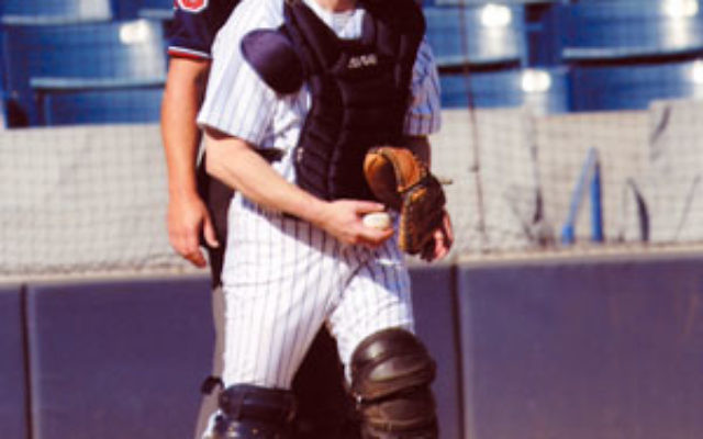 NJJN sports and features editor Ron Kaplan gets a different perspective behind the plate and at bat.