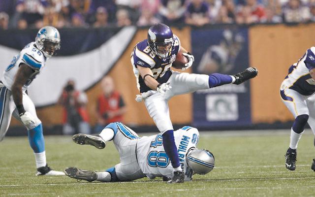 Greg Camarillo. Photo courtesy Minnesota Vikings