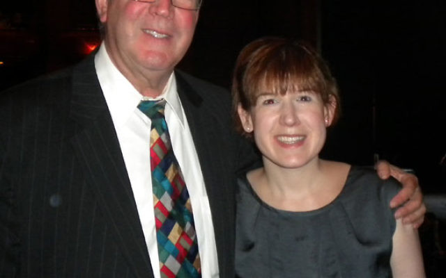 Beth Rosenthal with her father, Jerry, of Springfield.