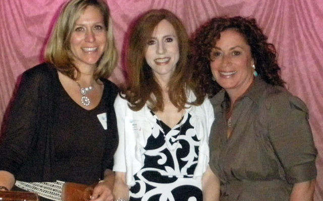 Main Event cochairs, from left, Debbie Friedman, Melissa Jerushalmy, and Wendy Friedman. Photo by Debra Rubin