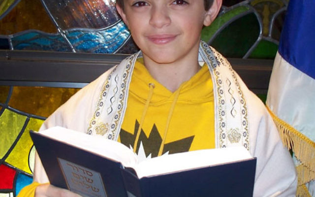 Daniel Spivak is collecting items and organized a benefit concert for Haiti as his tzedaka project for his April 17 bar mitzva at Congregation B'nai Tikvah in North Brunswick.