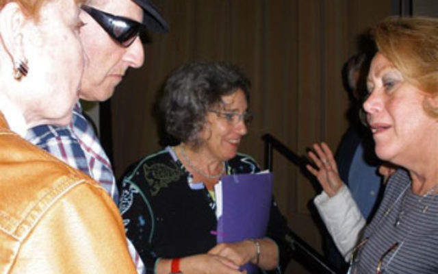 Diane Wolf, who wrote a book based on her interviews with 70 Dutch Jews who were hidden children during the Holocaust, spoke about her findings during a Sept. 30 program at Rutgers University.