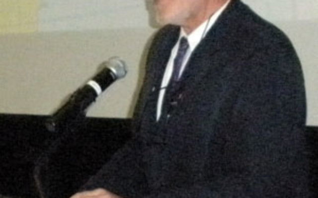Joel Migdal, the Robert F. Philip Professor of International Studies at the University of Washington, spoke on the state of a strategic United States-Israel alliance. Photo by Debra Rubin