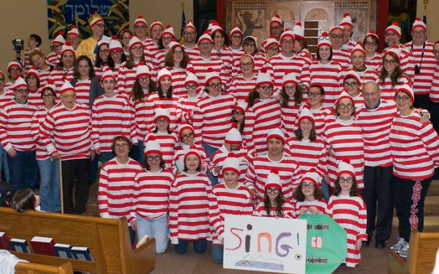 Congregation B'nai Tikvah set the world record for the number of Waldos gathered in a synagogue during its megilla reading on Purim.