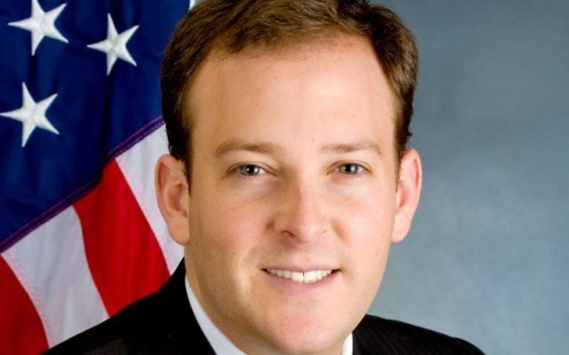 Lee Zeldin defeated Democrat Tim Bishop in New York's 3rd district to become the sole Jewish Republican in Congress.