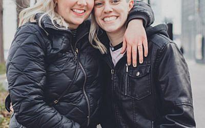 Kate Bennert, left, and Rachel Baum