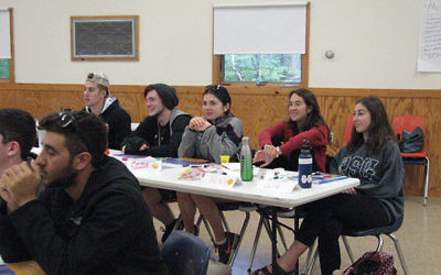 Seventeen staff members participated in Mental Health First Aid Training at URJ Camp Harlam on June 22. (Photos by Johanna Ginsberg)