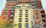 Riverview Senior Independent Living, on Manhattan's Far West Side. COURTESY OF RIVERVIEW