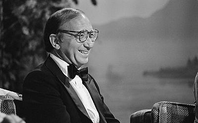 "Neil Simon, at left, on ""The Tonight Show Starring Johnny Carson,"" June 26, 1980. Getty Images Paul Hawthorne"