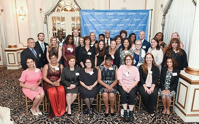 Recipients of Lester Z. Lieberman Awards for Humanism in Healthcare and colleagues.
