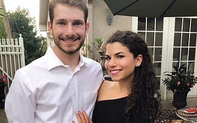 Adam Halpern and Emily Simkin