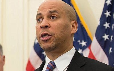 Cory Booker. Wikimedia Commons
