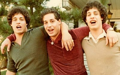"""Three Identical Strangers"" is a documentary about triplets separated at birth by a Jewish-affiliated adoption agency in 1961. JTA"