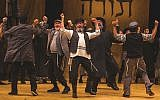 """More than 30,000 people have already seen the Folksbiene's Yiddish """"Fiddler."""" Victor Nechay/ProperPix"""