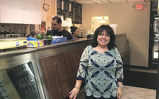 Dalia Barness, owner of The Orchid in Metuchen. Photo by Jennifer Altmann