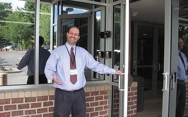 Rabbi Elliot Goldberg, new principal of Golda Och Academy's Upper School, will focus on integration, collaboration, and excellence. Photo by Johanna Ginsberg
