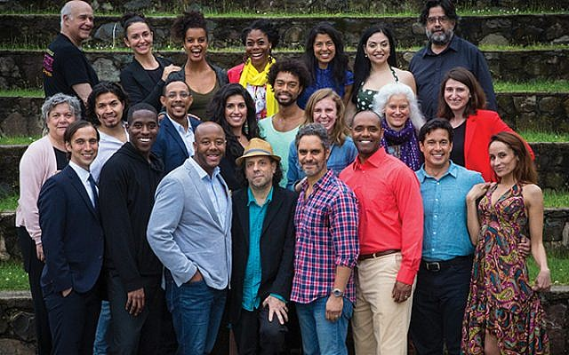 """The cast of the Peak Performances production of """"Hatuey"""""""