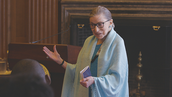 "From ""RBG."" Photo courtesy Magnolia Pictures"