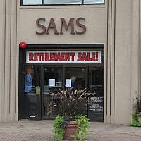 Sam's Fine Men's Clothing, an institution in Livingston with roots dating back to at least 1899 in Newark, will go out of business at the end of October. Photo by Johanna Ginsberg