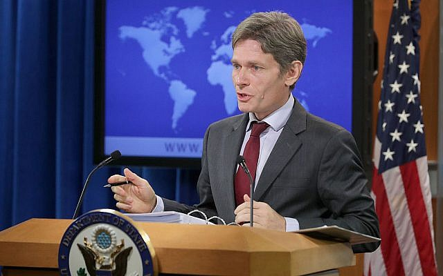 U.S. Assistant Secretary of State for Democracy, Human Rights, and Labor Tom Malinowski delivers remarks about the release of the 2015 Human Rights Report at the State Department Harry S Truman building April 13, 2016 in Washington, DC. Getty Images