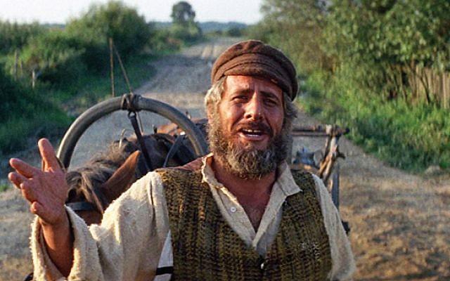 "Topol as Tevye in ""Fiddler on the Roof"""