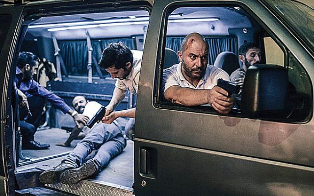 """Scene from the first season of """"Fauda."""" Courtesy Netflix"""