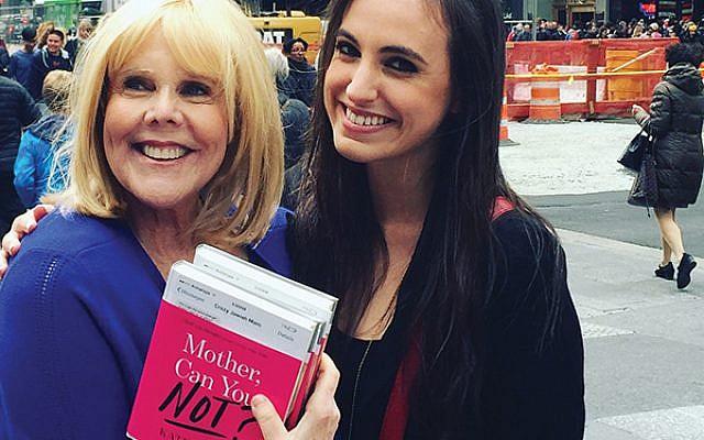 "Author Kate Friedman-Siegel, right, and her ""drone mom,"" Kim Friedman"