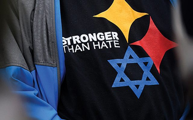 The pain felt by the Pittsburgh Jewish community is raw. Yet they endure. Getty Images