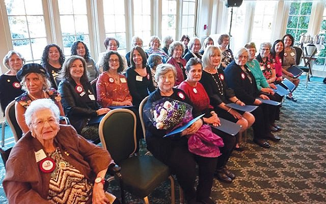 Chapter award winners were honored at the annual Myrtle Wreath Luncheon of Hadassah Southern New Jersey. Photo by Debra Rubin