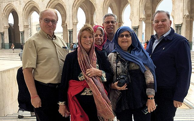 Princeton-area members of AJC at King Hassan II Mosque in Casablanca, one of the largest mosques in the world. Photos by Herb Horowitz