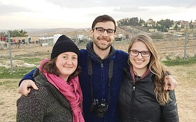 Provocation or principled stand? Emily Bloch, Ben Doernberg, Shira Tiffany were ejected from Birthright tour. Courtesy of Emily Bloch