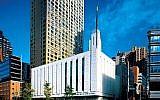 An LDS Temple in Manhattan. Via utahvalley360.com