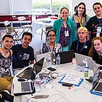 Eitanim fosters teens' leadership skills, Israel ties