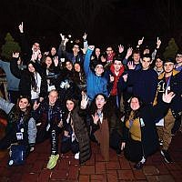 CTeens at the international Shabbaton.