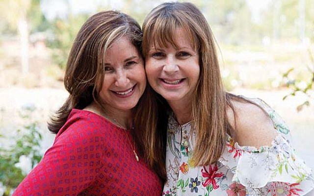 Newly found sisters Melinda Wagner of Red Bank, left, and Miriam Carmona.  (Photos Courtesy Melinda Wagner)