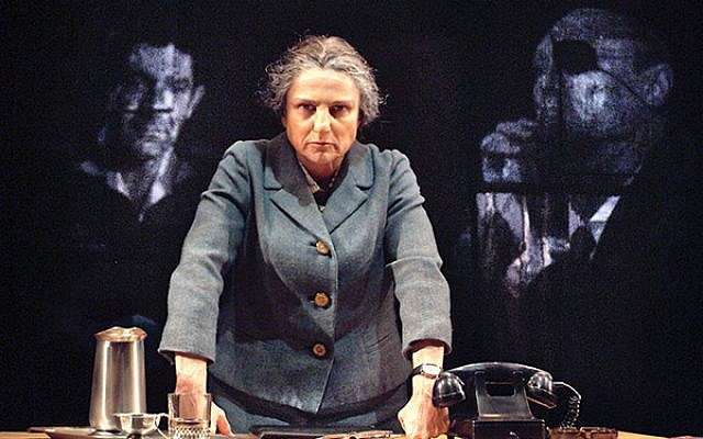 """In the midst of war, Golda never stopped """"crying for peace,"""" said Feldshuh."""