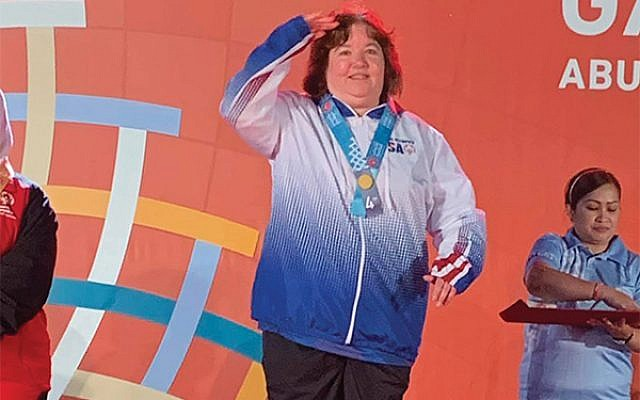 Jane Ellyn Clark at the 2019 Special Olympics World Games. (Photo by Landa Gann)