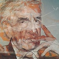 "A sign of ""life"": After completing one portrait of Elie Wiesel, local artist Meyer Uranovsky said he felt inspired to keep going. Over the course of nearly a year of work, he decided to do 18, chai, the symbol of life and continuity. All are on exhibit at UJA-Federation for the next two months. Photos courtesy of UJA-Federation"