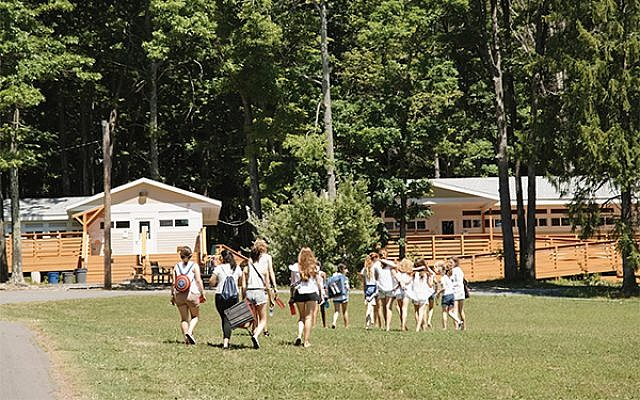 The Reform movement's URJ Camp Harlam is making two cabins ADA accessible with grant money from the Yashar Initiative. Courtesy URJ Harlam