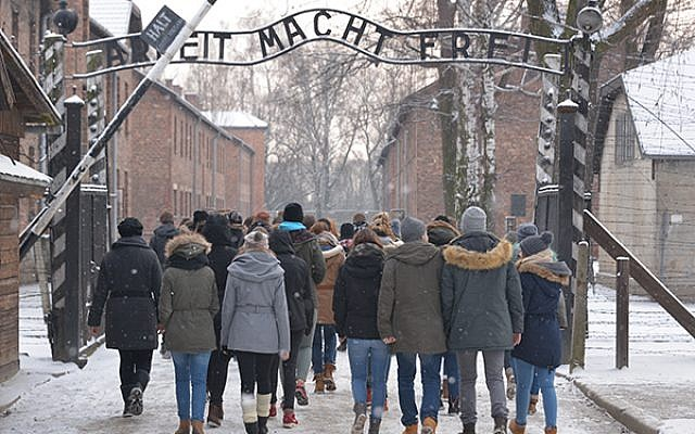 The entrance to the Auschwitz Gate Photo by Iciar Palacios © Musealia